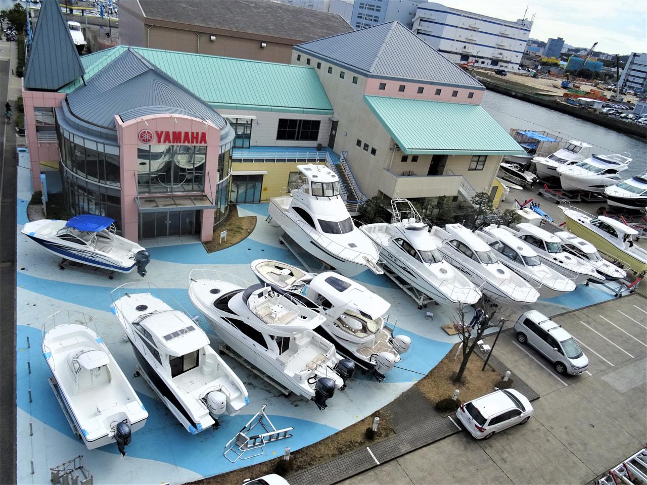 ボートショー展示予定製品が大集合です!!画像