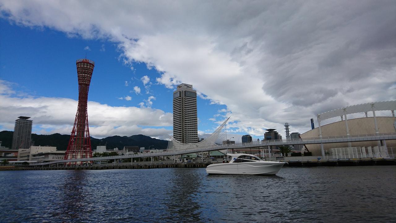 神戸港画像