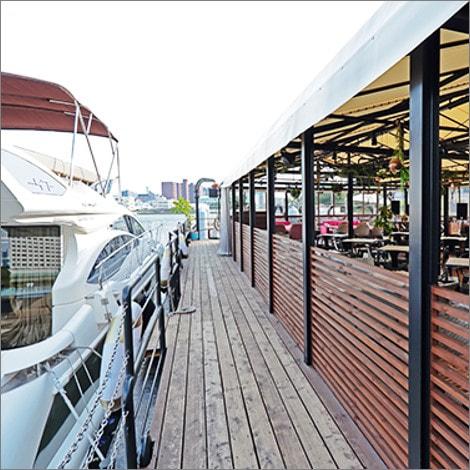 中の島ゲートパーク海の駅 写真